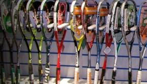 como elegir la raqueta de squash