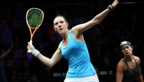 laura massaro vs Nicol David