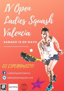 IVLadies Open – International Squash Tournament in Valencia Spain (2019)